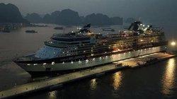 Cảng hành khách quốc tế Hạ Long đón chuyến tàu quốc tế đầu tiên