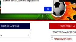 VFF lí giải vì sao nhiều người không thể mua vé online trận Việt Nam – Philippines