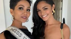 """H'Hen Niê """"chặt đẹp"""" dàn Hoa hậu Hoàn vũ với phong cách đậm chất fashionista"""