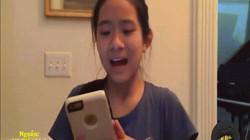 """Cô bé người Mỹ gốc Việt nói tiếng mẹ đẻ cực """"bá đạo"""""""