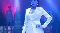 """Minh Tú """"thổi bay"""" sàn diễn phần thi Top Model tại Hoa hậu Siêu quốc gia 2018"""