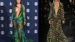 Versace hồi sinh váy hở bạo của Jennifer Lopez sau 2 thập kỷ