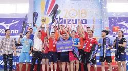"""Trung """"Ruồi"""" giao lưu cầu lông cùng VĐV giải Mizuno Badminton Super League"""