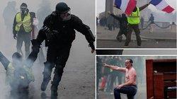"""Biểu tình """"Áo vàng"""" Pháp: Bạo lực, lòng trắc ẩn xen lẫn nhau"""