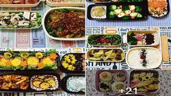 Cô vợ trẻ ở Nhật đều đặn mỗi tháng nấu 25 hộp cơm cho chồng