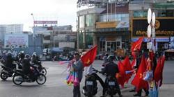 Trước giờ G, Đà Lạt ngập cờ trống cổ vũ đội tuyển Việt Nam