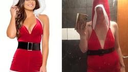 Mua váy mừng Giáng sinh, mẹ hai con vỡ mộng hoàn toàn