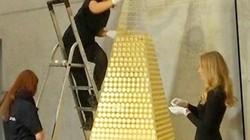 """Hé lộ số lượng vàng """"khủng"""" làm nên cây thông siêu đắt 60 tỷ đồng"""