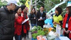 ATTP cuối năm 2018: Mua thực phẩm sạch ngay trên phố đi bộ Hà Nội