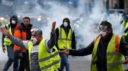 Nga giật dây phong trào biểu tình Áo vàng ở Pháp?