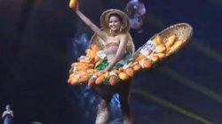 """H'Hen Niê tự tin tỏa sáng với trang phục """"Bánh mì"""" tại Hoa hậu Hoàn vũ 2018"""