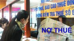 Cục trưởng cũng phải đi đòi nợ thuế