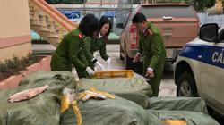 Bắt 2 vụ vận chuyển nội tạng lợn nhập lậu từ Trung Quốc