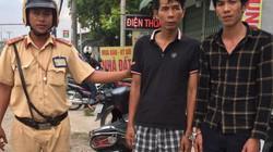 CSGT TP.HCM rượt đuổi bắt giữ 2 kẻ trộm như phim trên phố