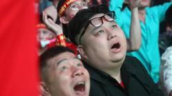 Xuất hiện bản sao của ông Kim Jong Un cổ vũ đội tuyển Việt Nam