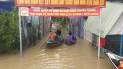 Quảng Nam: Lũ đang cao, hồ Phú Ninh buộc xả lũ 275m3/s