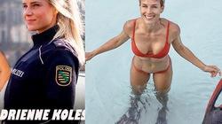 """Nữ cảnh sát đẹp nhất nước Đức làm gì để có cơ bắp """"đá tảng""""?"""
