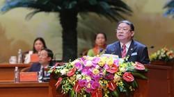 Chủ tịch Thào Xuân Sùng tuyên bố bế mạc ĐH Hội Nông dân Việt Nam VII
