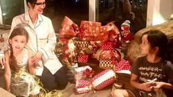 Mẹ đơn thân Hồng Nhung ngồi dạy con làm điều này để chuẩn bị Noel