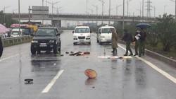 Kinh hoàng: Ô tô cán nát người trên cao tốc rồi bỏ chạy