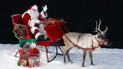 Ông già Noel đến từ đâu, vì sao mũi tuần lộc có màu đỏ?