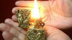 Những chiếc bật lửa giá tính bằng vàng
