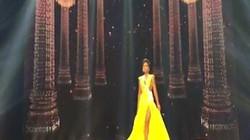 """Cú xoay người """"thần thánh"""" của H'Hen Niê tại Hoa hậu Hoàn vũ đang gây sốt"""