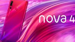 Huawei trình làng nova 4 cấu hình chất, giá ngây ngất