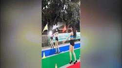 Vũ nữ mặc bikini nhảy tại sự kiện từ thiện Thái Lan gây bức xúc
