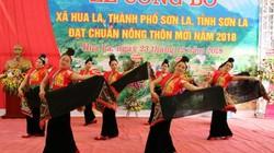 Ngày hội trên xã thứ 20 đạt chuẩn nông thôn mới ở Sơn La
