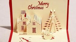 Clip: Hướng dẫn làm thiệp chúc mừng Giáng sinh 3D cực đơn giản