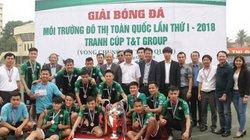 Bế mạc và trao giải Giải bóng đá Môi trường và Đô thị toàn quốc lần thứ I – 2018  tranh Cup T&T Group