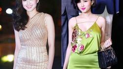 Dáng đẹp như Tâm Tít, Hương Tràm vẫn lộ bụng mỡ vì váy ôm