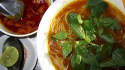 Bún bò cay, bánh củ cải nổi tiếng ở quê hương công tử Bạc Liêu