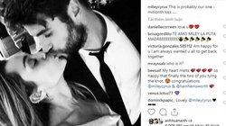HOT: Miley Cyrus chính thức đăng ảnh cưới, xác nhận trở thành vợ Liam Hemsworth