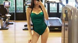 MC Nha Trang chân dài 1m1 làm việc này khi quên đồ tập gym