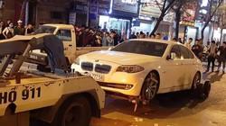 Va chạm với xế hộp BMW và xe buýt, cô gái tử vong thương tâm