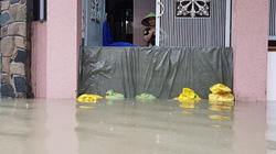 Khánh Hòa: Mưa lớn, một số nơi ngập sâu dịp nghỉ lễ