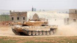 Thổ Nhĩ Kỳ tập trung xe tăng ở biên giới: Manbij sắp thành chảo lửa?