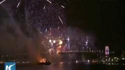 Thế giới chào đón năm mới 2019 bằng màn pháo hoa tưng bừng