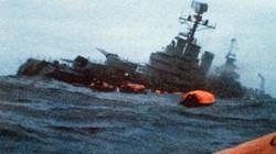 Tàu chiến duy nhất trên thế giới từng bị tàu ngầm hạt nhân đánh chìm