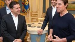 Zelensky và cuộc gặp thú vị với Tom Cruise