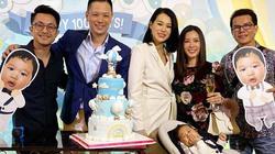 Thu Hoài sang Hong Kong dự tiệc 100 ngày tuổi của quý tử sao TVB Hồ Hạnh Nhi