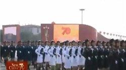 Chiêm ngưỡng màn thể hiện của nữ binh sĩ TQ trong lễ duyệt binh lớn nhất từ trước đến nay