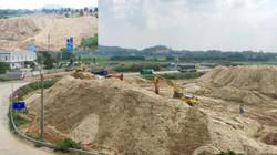 Điều tra nguồn gốc núi cát khủng trữ trái phép của công ty 179
