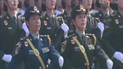 Nữ tướng Trung Quốc lần đầu xuất hiện trong lễ duyệt binh lớn nhất từ trước đến nay