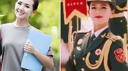 Nổi bật trong lễ duyệt binh, nữ binh sĩ TQ xinh đẹp khiến vạn người đòi xin thông tin
