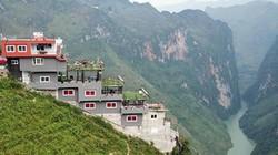 """""""Gai bê tông"""" ở đỉnh Mã Pí Lèng: Sở đề nghị phá dỡ, tỉnh lặng im!"""