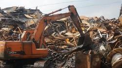 Bên trong Công ty Rạng Đông sau khi dọn sạch hàng nghìn tấn phế liệu