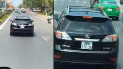 Lộ diện chủ nhân xe Lexus cản đường xe cứu hỏa dù CA khản cổ phát loa